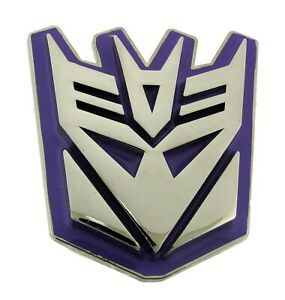 Hasbro Transformers Belt Buckle Decepticons Purple Autobot Officially Licensed