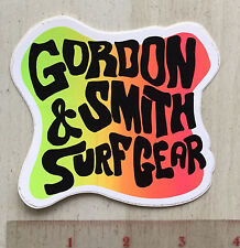 G&S Surfboard Surf Gear Skateboard Clothing Sticker 80'S 60'S 70'S Style Logo