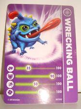 CARTE CARD FIGURINE SKYLANDERS - WRECKING BALL
