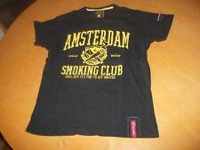 Fishbone T-Shirt Gr. S guter Zustand Cannabis Amsterdam Smoking Club kills Hanf
