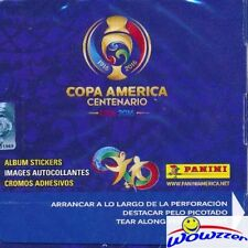 2016 Panini Copa America Centenario HUGE 50 Pack Factory Sealed Box-350 Stickers