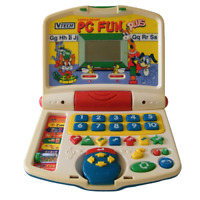 VTech Little Smart PC Fun Plus Learning Toy Homeschool Electronic Computer Mouse