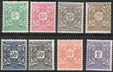 Timbres Mauritanie taxe 17/24 ** (37655)
