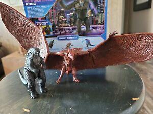 Godzilla King of The Monsters And Rodan Loose Figure