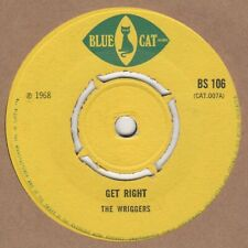 Wriggers Get Right Blue Cat BS106 Soul Northern Reggae