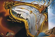 Enmarcado impresión-Salvador Dali Melting Reloj 1954 (Pintura Imagen Arte Cartel)