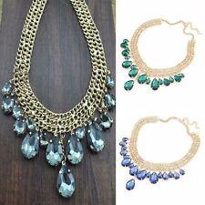 Modeschmuck-Halsketten & -Anhänger aus Edelstein mit Tropfen