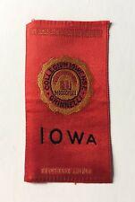 New listing 1910 Tobacco Cigarette College Silk Iowa (121)