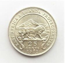 East Africa & Uganda - George V -  25 Cents - 1912 - aUnc