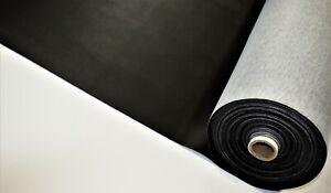 "30 Feet Black Carbon Fiber Marine Vinyl Fabric Outdoor Boat Auto Upholstery 54""W"