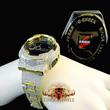New Authentic G-Shock G Shock Custom Men's Simulated Canary Diamond Watch GD-100