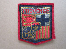 Provence Woven Cloth Patch Badge