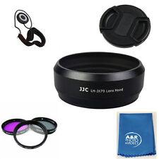 JJC LH-JX70 black Metal Lens Hood For Fujifilm X70 Fuji LH-X70 + Filter kit +cap