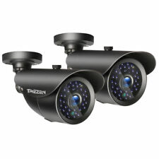 2x 1080P Security Camera Night Outdoor 3000TVL CCTV Home For Surveillance System