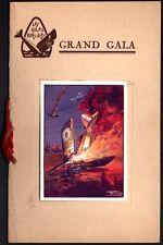 Programme Aviation. Les Ailes Brulées. Grand Gala. Jackie Coogan. Vers 1930