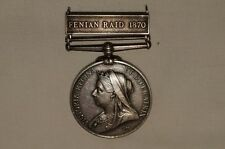 Canadian General Service Fenian Raid 1870 Medal CGSM Pte D McIntyre 56th Bn