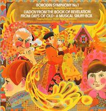 Borodin(Vinyl LP)Symphony No.1-Moscow Radio Symphony Orchestra-HMV-ASD -Ex-/Ex