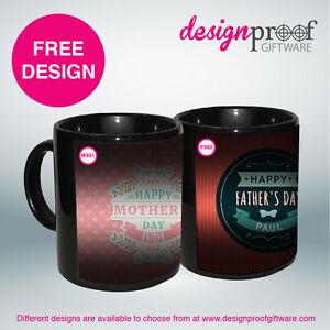 Personalised Coffee Mug - Colour Changing MAGIC Mug!!!