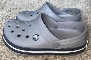 EUC - Youth size 3 Croc band Crocs