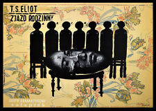 Reunión familiar 1963 cartel Franciszek Starowieyski polaco