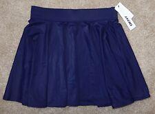 New DKNY Swim Skirt Medium Blue Nylon Pool/Beach Coverup Donna Karan