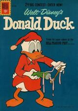 Donald Duck #79 Vg/F, Stains on F/C and B/C, Dell Comics 1961