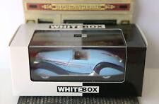 DELAHAYE 165 V12 1938 DARK & LIGHT BLUE WHITEBOX WB097 1/43 ROADSTER