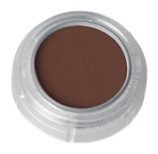 Grimas Puder Lidschatten Rouge Eyeshadow in Braun Dunkel farbintensiv N.565 Matt