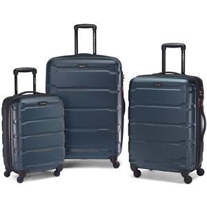 "Samsonite Omni Hardside Luggage Nested 3 PC Spinner Set (20""/24""/28"") Teal"