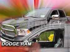 DODGE RAM IV 4-portes 2009-présent Deflecteurs de vent 2-pièces HEKO Bulles
