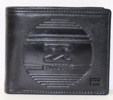 Men's Billabong Boston Black Leather Wallet. RRP $49.99. NWOT.