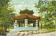 Peoria IL The Squirrel House in Glen Oak Park 1909