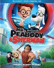 Mr. Peabody  Sherman (Blu-ray/DVD, 2014, 2-Disc Set, Includes Digital Copy...