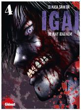 manga IGAI The Play Dead/Alive tome 4 Seinen Tsukasa Saimura Glénat Horreur VF