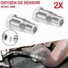 Oxygen O2 Sensor Spacer Adapter Bung Catalytic Converter Check Engine Light Exd Fits 2002 Mitsubishi Eclipse