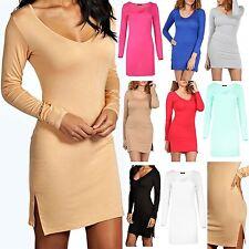 Viscose V Neck Wiggle, Pencil Dresses for Women