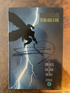 Signed Frank Miller 1st Ed 1986 Batman The Dark Knight Returns