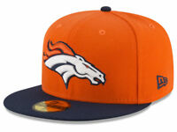 New! Denver Broncos New Era NFL 59Fifty Team Fitted Onfield Cap size 7 1/2