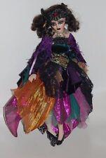 Uno de una clase espeluznante Hermosa Muñeca De Porcelana-Theda Bara Gótico Terciopelo de película