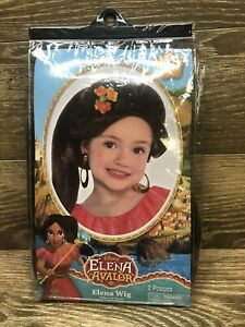 Disney Elena of Avalor ELENA Wig New! Halloween Dress Up