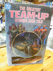 DC GREATEST TEAM-UP STORY, 1989 HARDCOVER 1ST PRINT