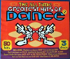 THE ALL TIME GREATEST HITS OF DANCE VARIOUS ARTISTS 3 x CD  DISCS.