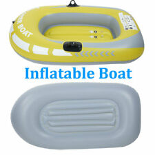 Pvc One Person Fishing Swimming Water Sports Inflatable Boat Kayak Canoe Raft