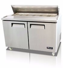 Migali C-Sp60-16-Hc Two Door Sandwich Salad Prep Table