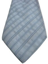 BALLY Tie Light Blue – TEXTURED Stripes