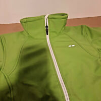 Koppen Women's Full Zip Up Hiking Rain Wind Light  Jacket Green Size M