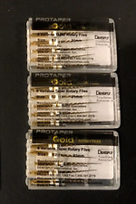 3 x Dentsply ProTaper Gold Files Assorted S2 21mm