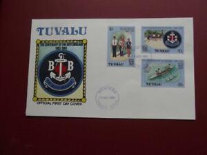 TUVALU  First day cover BOY'S BRIGADE 1983