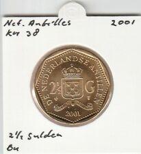 Netherlands Antilles 2 1/2 gulden 2001 BU - KM38