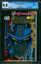 Transformers: Generation 2 Collector's Edition #1 CGC NM/M 9.8 White